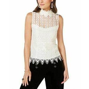 Nanette Lepore Rendevous Top sz 4 Lace NWT $298